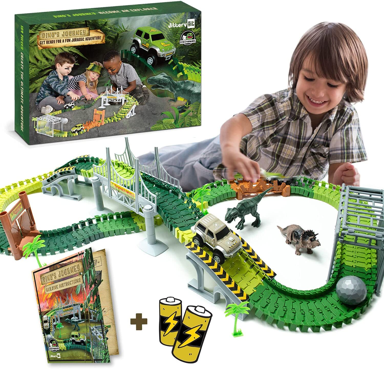 Dinosaur Toys Track For Boys and Activities Low price Girls STEM - Excellence fo