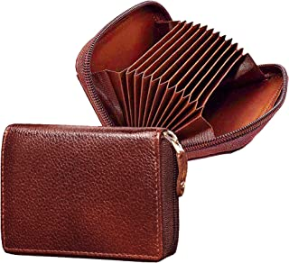 ABYS Maroon Genuine Leather Wallet for Women and Girl's