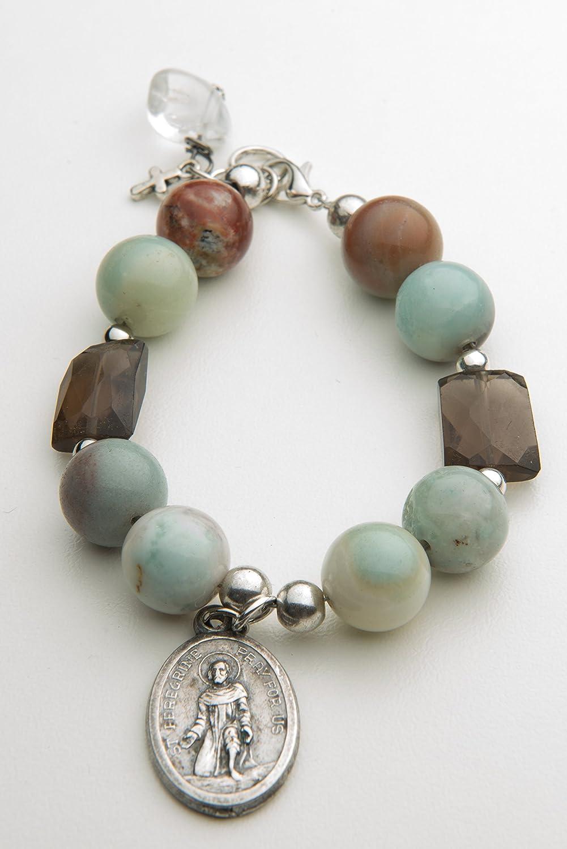 St. High quality new Peregrine vintage medal #280 Bracelet Prayer Ranking TOP3