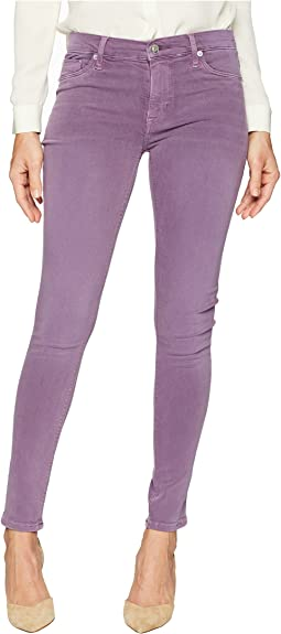 Nico Mid-Rrise Ankle Super Skinny in Dusted Orchid