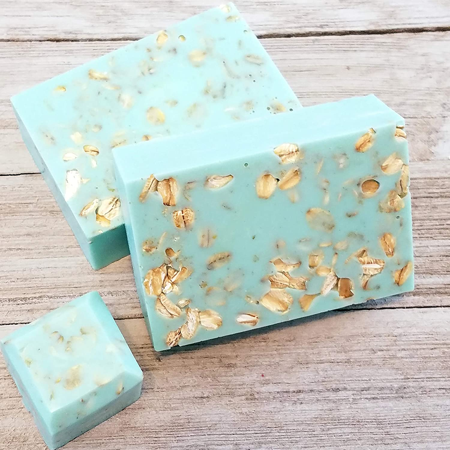 67% OFF of fixed price Handmade Direct stock discount Oatmeal Soap Silver Jewelry Hidden Charm San Surprise