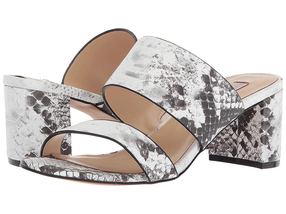 Kristin Cavallari Lakeview Slide Sandal (Grey/White Snake Leather) Women
