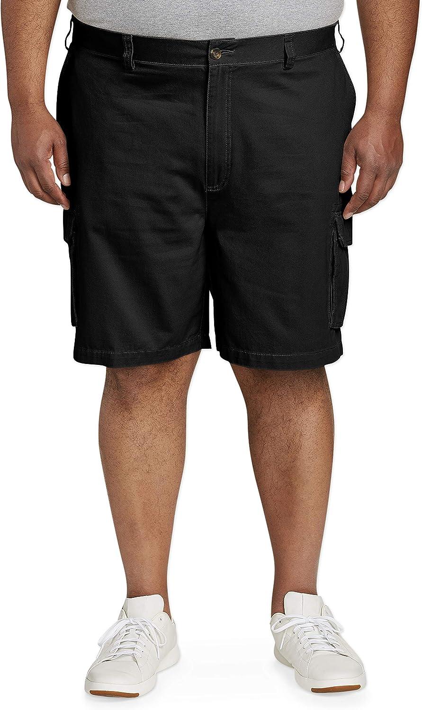 Amazon Essentials Men's Big & Tall Cargo Short fit by DXL