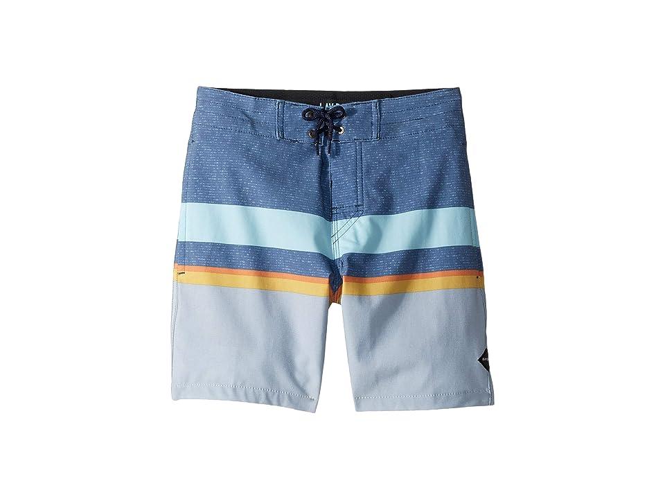 Rip Curl Kids Rapture Layday Boardshorts (Big Kids) (Navy) Boy