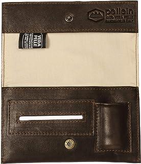 Pellein - Portatabacco in vera pelle Cuttlefishes - Astuccio porta tabacco, porta filtri, porta cartine e porta accendino....