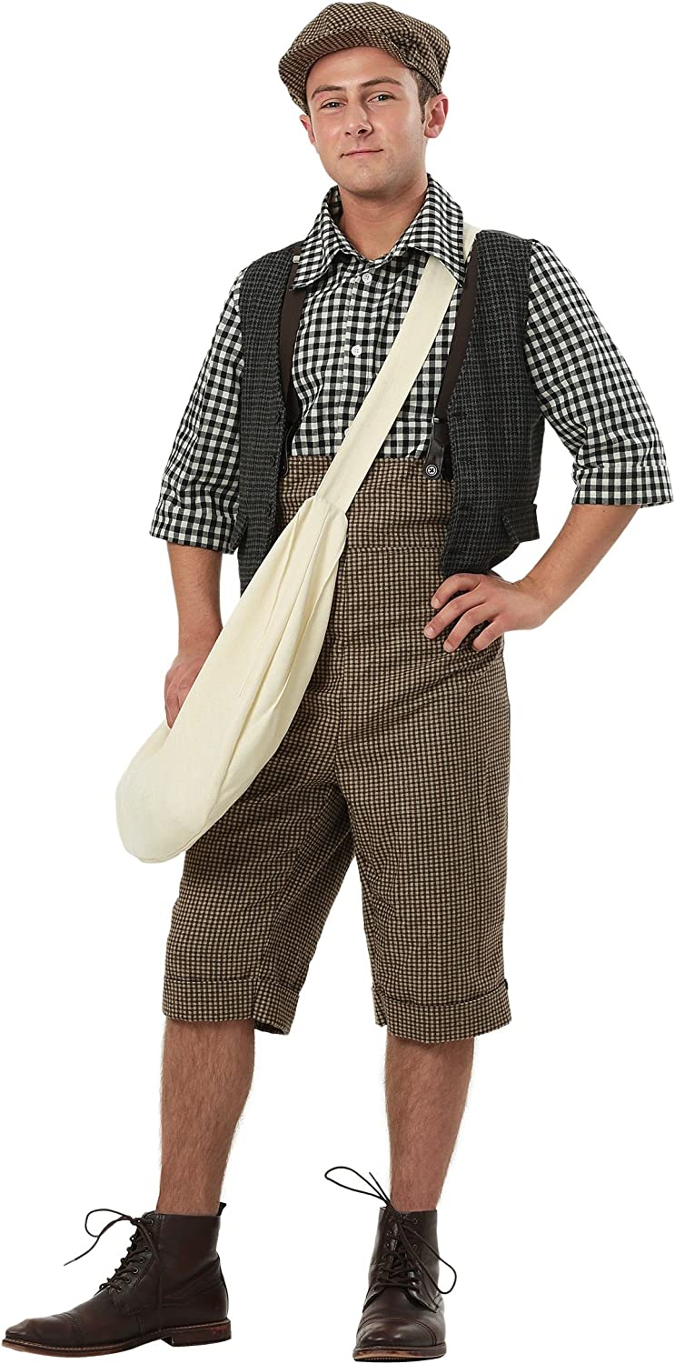 precios razonables Adult Adult Adult 20s Newsie Fancy dress costume Small  ventas en linea