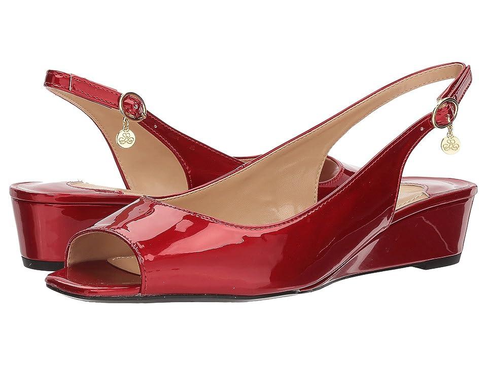 J. Renee Alivia (Red Metallic) High Heels