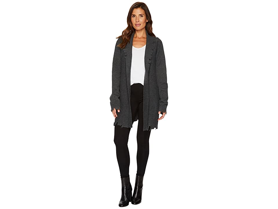 Religion Off Beat Cardigan (Charcoal) Women