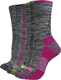 Women's Dritech Advanced Moisture Wicking Crew Sock (6/12 Packs)