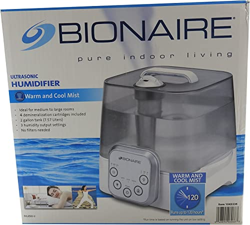 new arrival Bionaire, popular Humidifier outlet online sale Ultrasonic no filters needed, medium to large rooms outlet sale