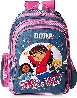 Mbc Dora School Backpack for Girls - Blue
