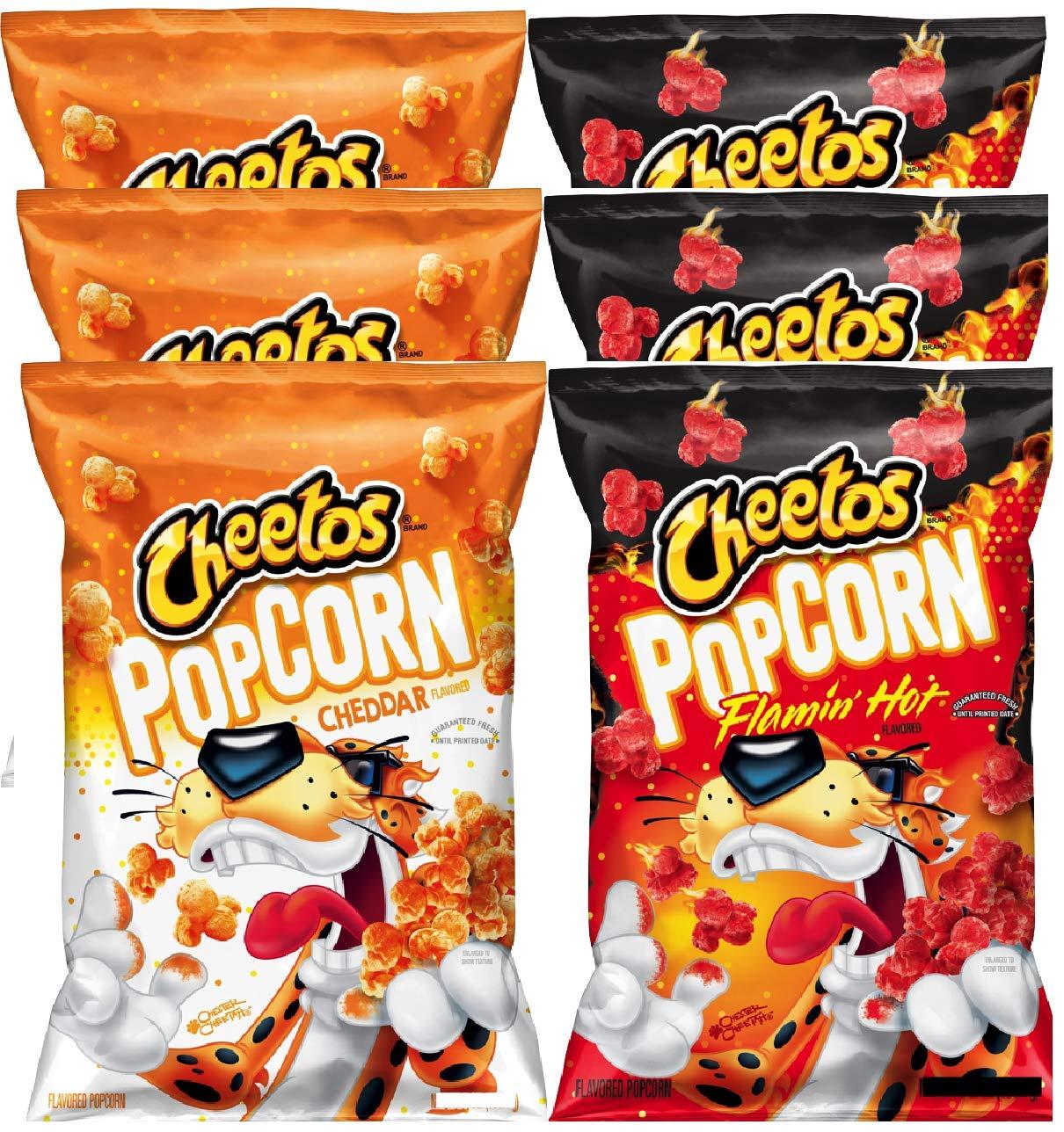 NEW Ranking TOP1 Max 73% OFF Cheetos Popcorn Flamin' C Hot Cheddar