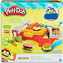 Play-Doh - Cookout Creations - BBQ Playset - inc 5 Tubs of Dough & Accessories - Creative Kids Toys - Ages 3+