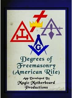 Degrees of Freemasonry (American Rite)