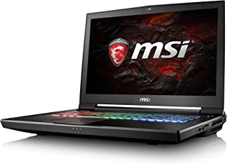 MSI GT73VR 7RF (Titan Pro) 286UK17.3 Inch Laptop (Negro) - (Kabylake Core i7-7820HK, 32 GB de RAM, 512 GB SSD, HDD de 1 TB, GTX 1080, Windows 10)