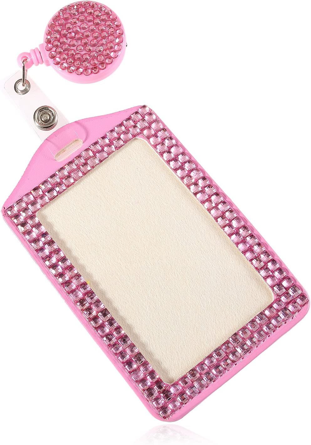 Fixed price for sale Las Vegas Mall Fashion Baby Pink Bling Crystal Cute Gift Rhineston Neck Lanyard