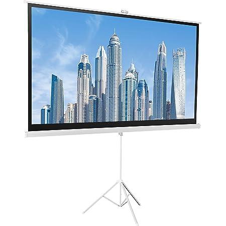 Amazon Basics 16:9 Portable Projector Screen - 100 Inch, White