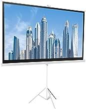 AmazonBasics 16:9 Portable Projector Screen - 100 Inch, White