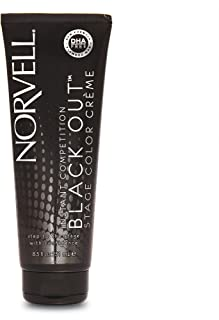 Norvell Black Out Competition Stage Color Creme, 8.5 fl.oz.