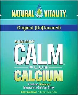 Natural Vitality Calm Plus Calcium Supplement Powder, Original