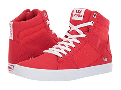 Supra Aluminum (Risk Red/White) Men