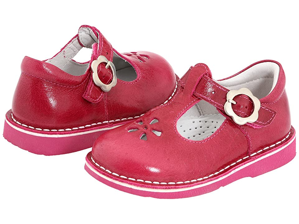 Kid Express Molly (Toddler/Little Kid/Big Kid) (Fuchsia Burnished Leather) Girls Shoes