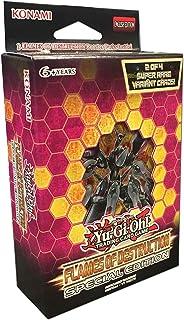 Yu-Gi-Oh! Cards: Flames of Destruction Special Edition Deck   3 Flames of Destruction Booster Packs   1 of 2 Super Rare Va...