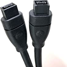 Micro Connectors, Inc. 6 feet Firewire IEEE 1394 9 Pin to 9 Pin Cable (E07-235)
