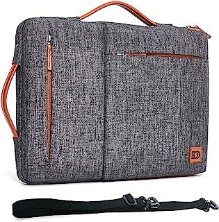 DOMISO 13.3 pulgadas funda protectora,bolsa de hombro para ordenador portátil compatible con 13