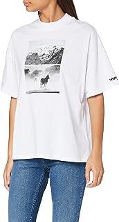 Wrangler High Rib Girlfriend T-Shirt Donna