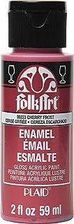 FolkArt 99233 Enamel Paint, Cherry Frost Metallic