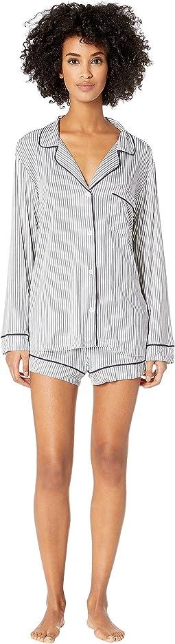 Sleep Chic - The Long Sleeve Short Boxed Pajama Set