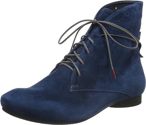 Think Think  Guad, Desert bottes Femme, Bleu  nouvelle exclusivité haut de gamme