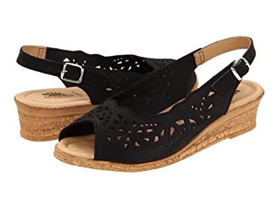 Spring Step Orella (Black Nubuck) Women