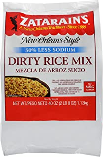 Zatarain's Reduced Sodium Dirty Rice Mix, 40 oz