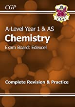 A-Level Chemistry: Edexcel Year 1 & AS Complete Revision & Practice (CGP A-Level Chemistry)