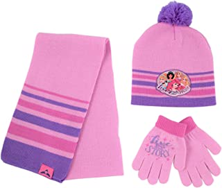 Girls' Princess Hat, Scarf and Gloves or Mitten Cold...