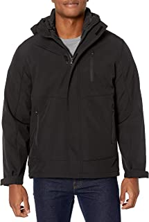 Hawke & Co Men's Midweight Systems Hooded Jacket with Detachable Liner