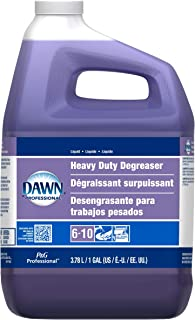 P&G Professional Heavy Duty Degreaser by Dawn Professional, Bulk Liquid Degreaser Refill for Commercial Restaurant Kitchens and Bathrooms, 1 gal. (Case of 3) - 10037000048524