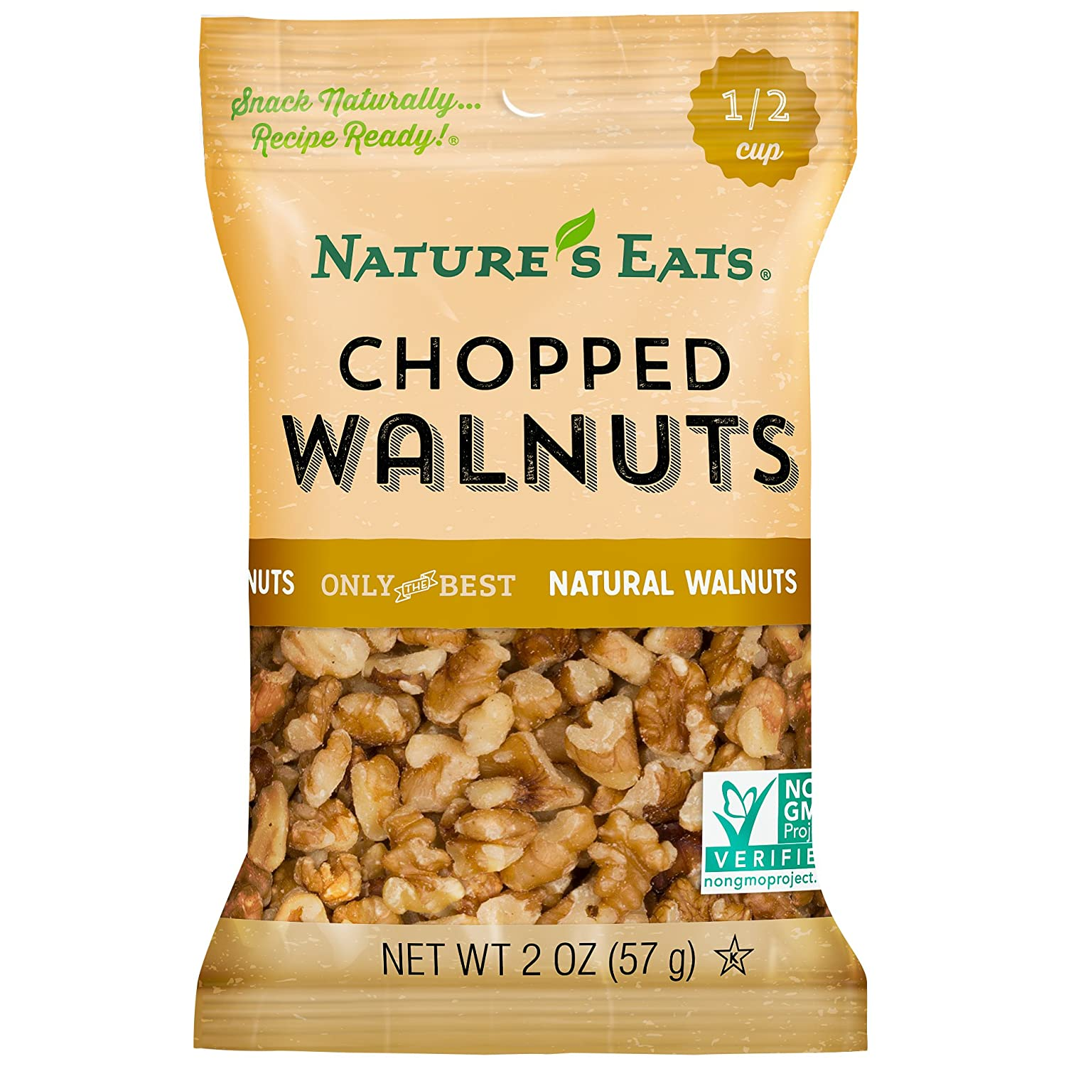 Nature's Eats Chopped Walnuts Max 53% OFF 2 Pack Ounce Max 46% OFF of 12