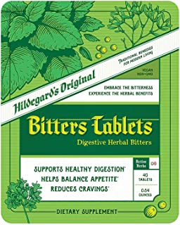 Sponsored Ad - Hildegard's Original Bitters Tablets: Ancient Herbal Remedy for Fasting Support, Weight Loss, Heartburn, & ...