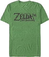 Nintendo Herren T-Shirt Legend of Zelda Link's Awakening Switch Logo