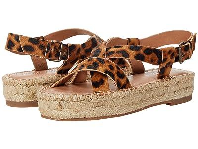 Madewell Aleh Asymmetric Espadrille Sandal (Truffle Multi) Women
