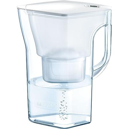 ブリタ 浄水器 ポット 浄水部容量:1.3L(全容量:2.3L) ナヴェリア ホワイトメモ マクストラプラス カートリッジ 1個付き 【日本正規品】