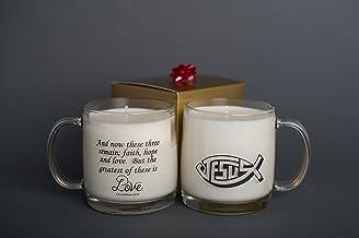 Christ Cup Candle Company (Love message, Frankincense & Myrrh)