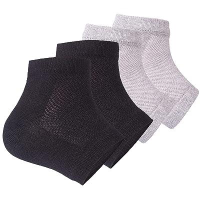 Ecurfu Moisturizing Toeless Socks Gel Lined Spa Socks
