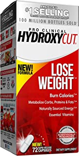 Weight Loss Pills for Women & Men | Hydroxycut Pro Clinical | Weight Loss Supplement Pills | Energy Pills to Lose Weight |...