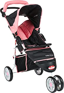 baby plus BP7740 Foldable and Multifunctional Stroller, Pink