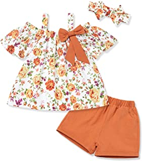 Newborn Baby Girl Clothes Outfits Infant Ruffle Long...