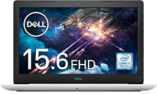 Dell ゲーミングノートパソコン G3 15 3579 Core i7 ホワイト 19Q12W/Windows 10/15.6 FHD/8GB/128GB SSD+1TB HDD/GTX1050Ti